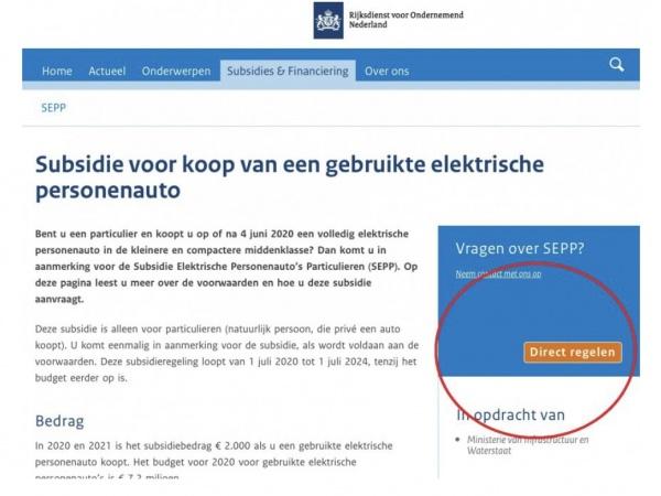 Grijp je kans! € 2.000 subsidie op tweedehands EV.